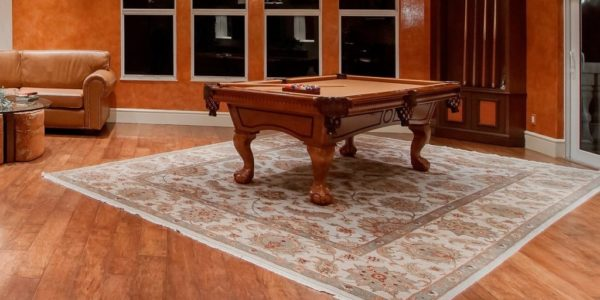 Couch Pool Table Rec Room Bar Recreation House