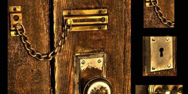Wooden Door Door Wooden Latch Old Lock Keyhole